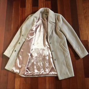 FOREVER 21 Pale Pink Coat - Small